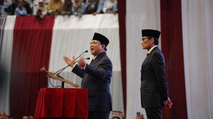 Visi Prabowo Sandi: Indonesia Menang, Adil, Makmur