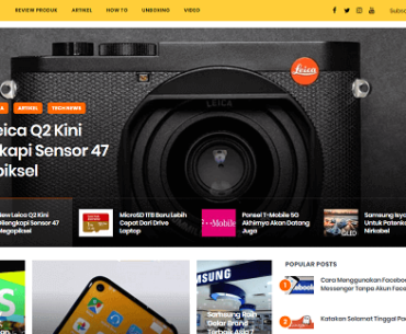 website review produk gadget terbaru unbox