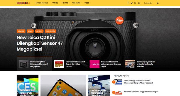 website review produk gadget terbaru unbox