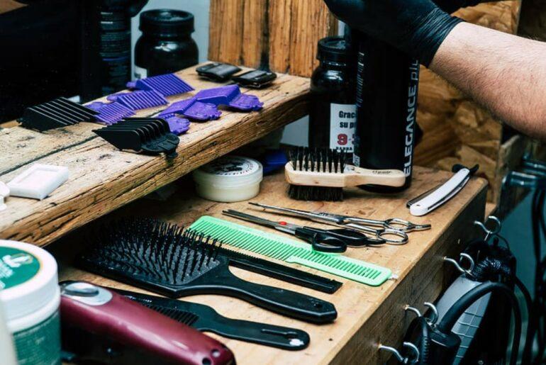 minyak rambut kering