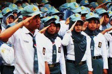 foto pelajar SMA di Indonesia