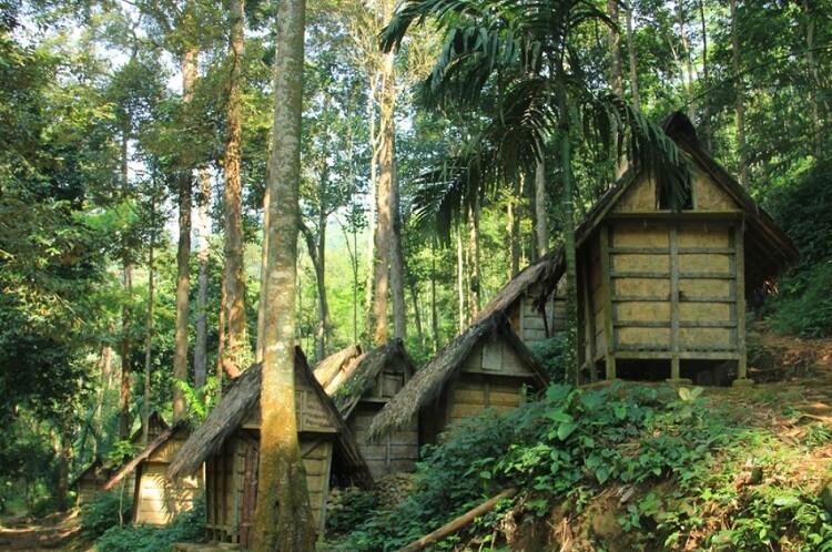 Rumah Rumah Suku Baduy Dalam