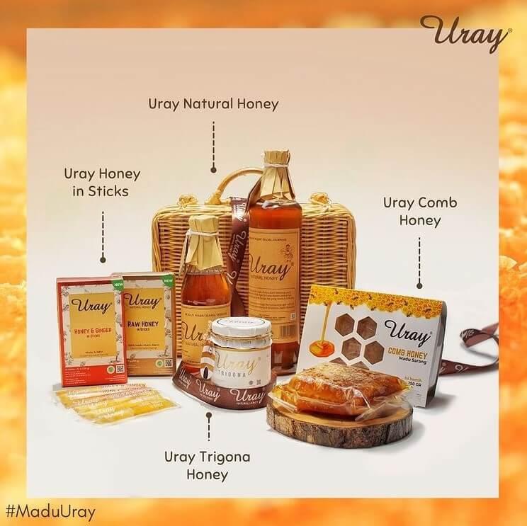 Beragam Produk Uray Natural Honey