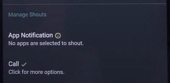 Shouter Reader Notification