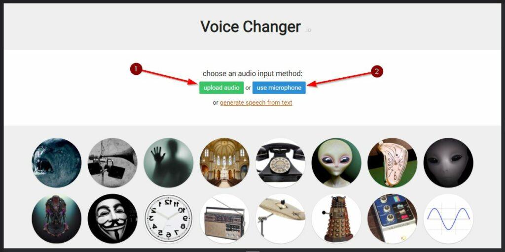 2 Opsi Cara Pakai Voice Changer