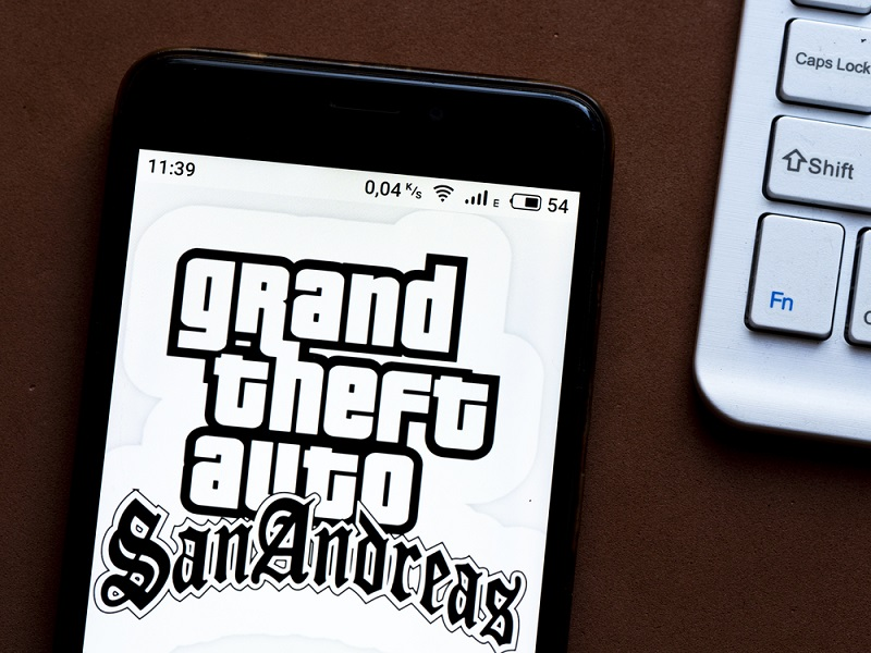 A Grand Theft Auto: San Andreas Mobile Apps