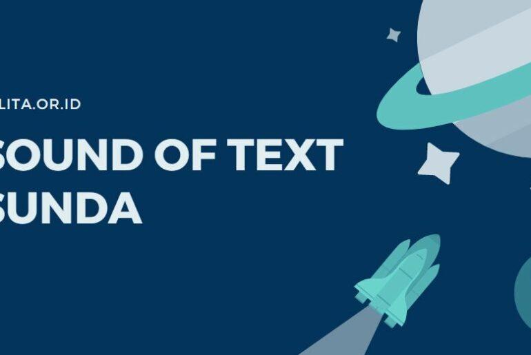 Sound Of Text Bahasa Sunda