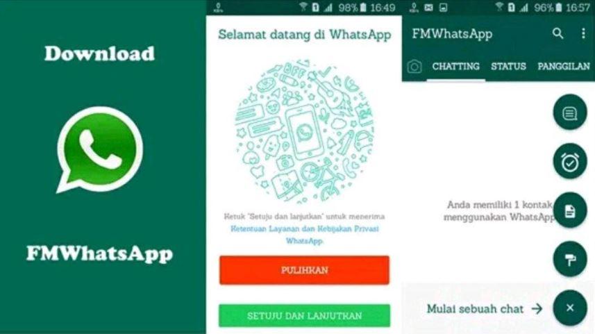 Tangkapan Layar Aplikasi Fm Whatsapp